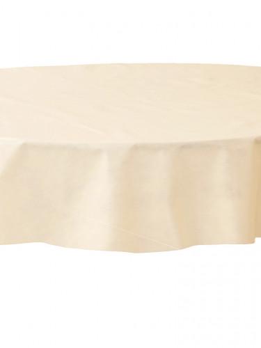 Nappe ronde en intissé ivoire 2.40 m