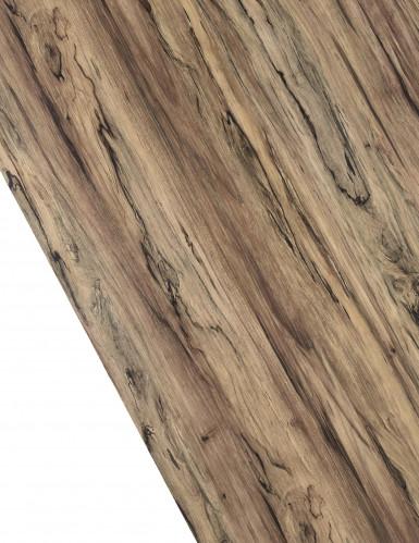 Chemin de table en vinyle effet bois 27 cm x 3 m-1