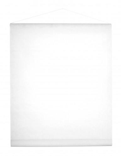 Tenture en intissé blanc 8 m x 70 cm