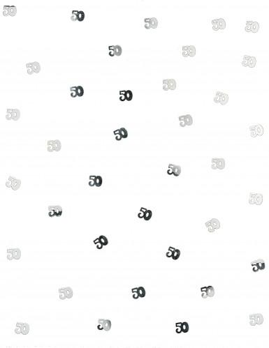 Confettis de table 50 argentés 10 gr-1