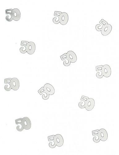 Confettis de table 50 argentés 10 gr