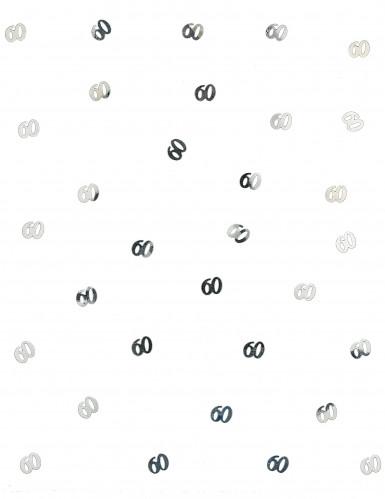 Confettis de table 60 argentés 10 gr-1