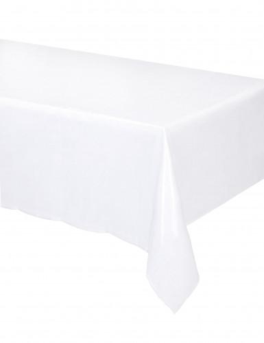 Nappe en organza blanc transparent 150 x 240 cm