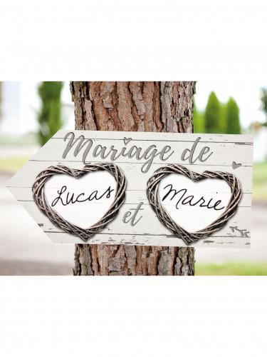 Flèche en papier mariage romantique-1