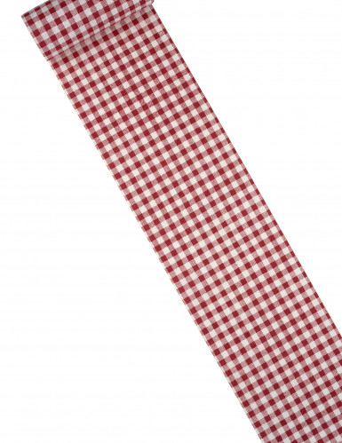 Chemin de table lin vichy 15 cm x 5 m