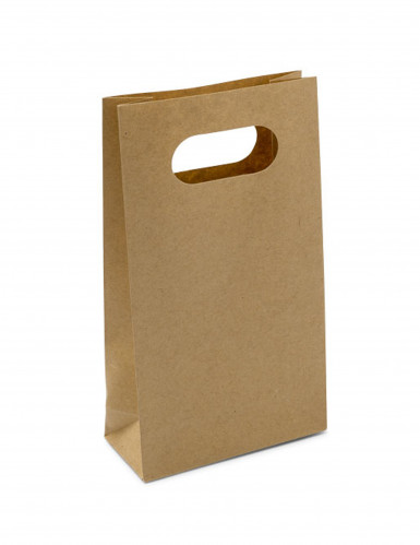 6 Pochettes en carton kraft 10,5 cm