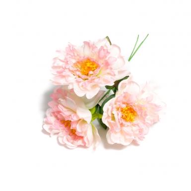 Bouquet 3 pivoines roses