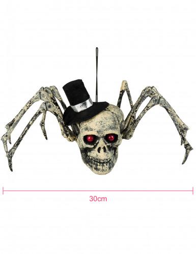 Décoration squelette araignée Halloween 23 x 30 cm-1
