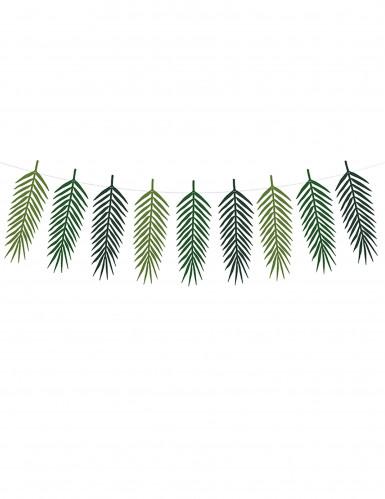 Guirlande feuilles exotiques Aloha 34 x 12 cm-1
