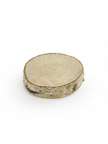 6 Marque-places rondins de bois 4 à 5.5 cm