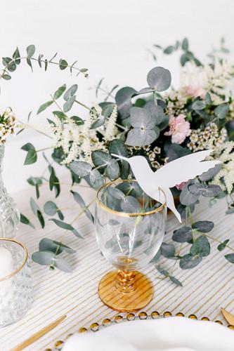 10 Marque-verres en carton colibri 13 x 10 cm-1