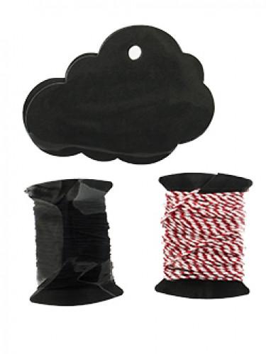 6 Marque-places nuage noir-1
