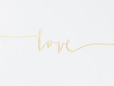 Livre d'or blanc Love 24 x 18 cm-1