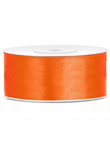 Ruban satin orange 2,5 cm x 25 m