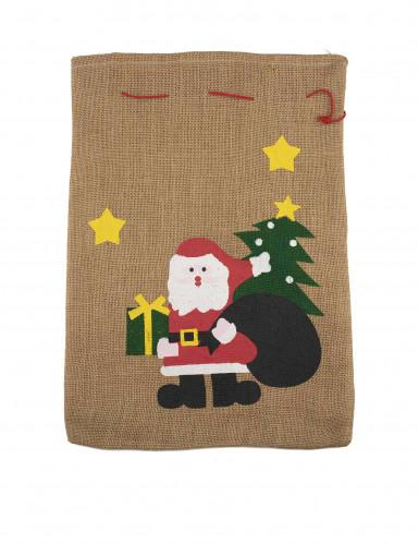 Hotte Père Noël 50 x 35cm