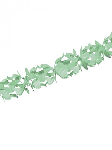 Guirlande de décoration vert d'eau 600x18 cm