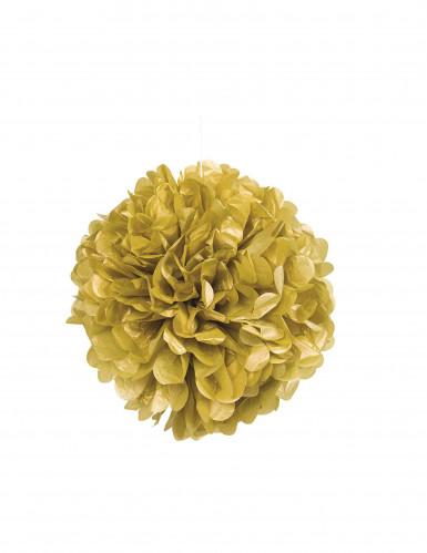 Boule décorative dorée 40.6 cm