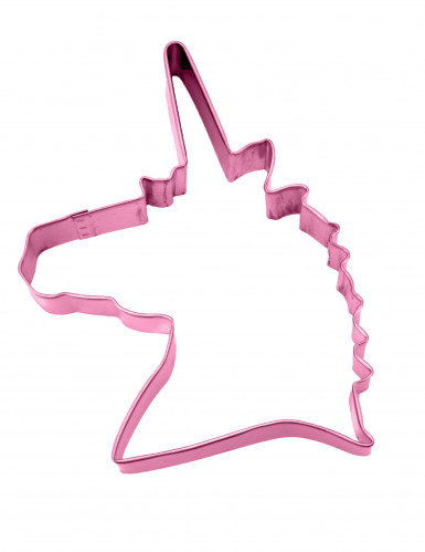 Emporte-pièce licorne rose