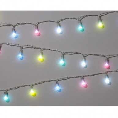 Mini guirlande lumineuse pastel 2.5 mètres-1