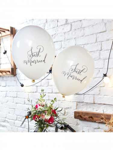 10 Ballons Just Married-1