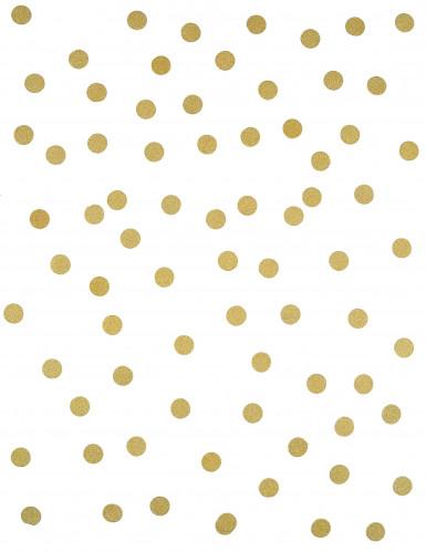 Confettis de table à paillettes or 14 g-1