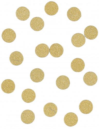 Confettis de table à paillettes or 14 g