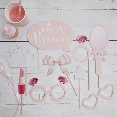Kit photobooth 9 pièces Princesse-1