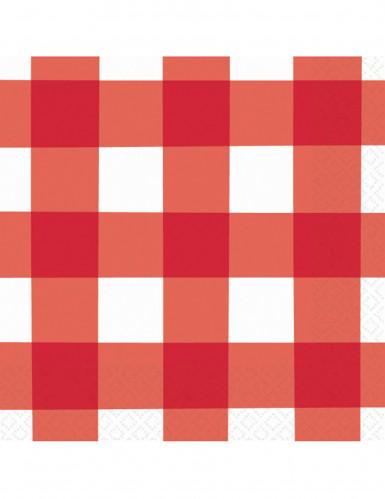 16 Serviettes Picnic Party 33 x 33 cm