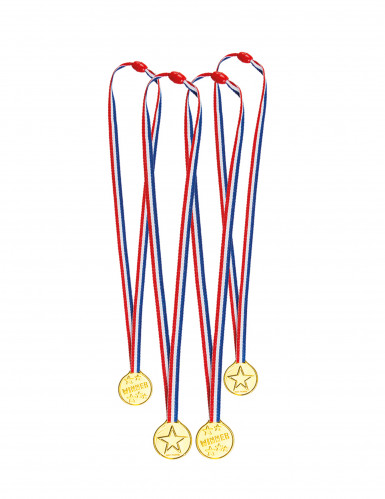 4 Mini médailles tricolores