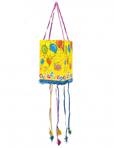 Piñata ballons d'anniversaire
