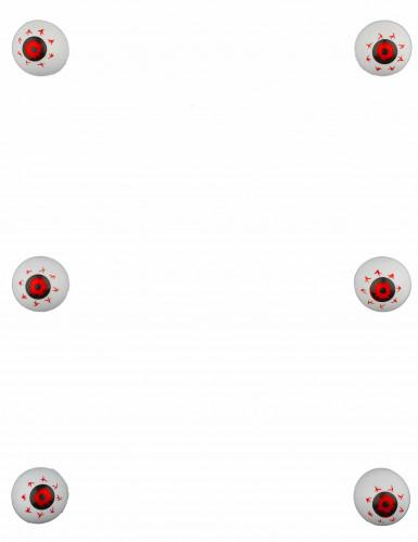 6 Décorations petits yeux globuleux-1