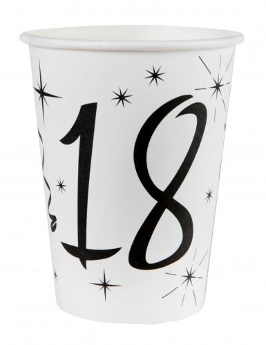 10 Gobelets en carton âge 18 ans 200 ml