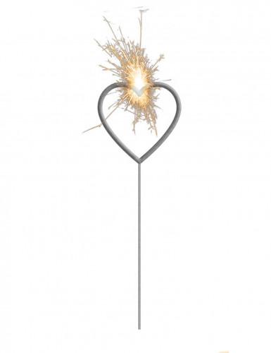 Cierge magique coeur 16 cm