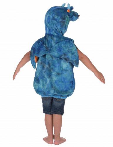 Déguisement dragon bleu et orange enfant-2