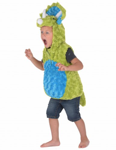 Déguisement dinosaure vert et bleu enfant-1