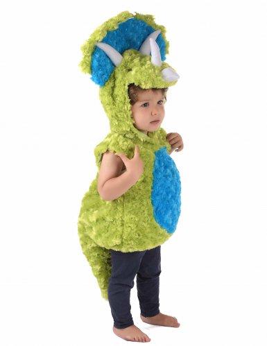 Déguisement dinosaure vert et bleu enfant-3