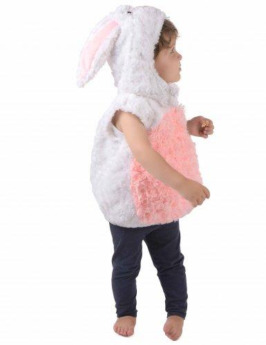 Déguisement lapin blanc et rose enfant-1