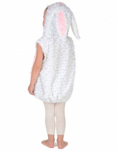 Déguisement lapin blanc et rose enfant-3