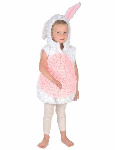 Déguisement lapin blanc et rose enfant-4