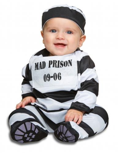 Déguisement prisonnier rayer bébé