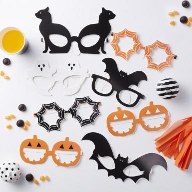 8 Paires de lunettes Halloween-1