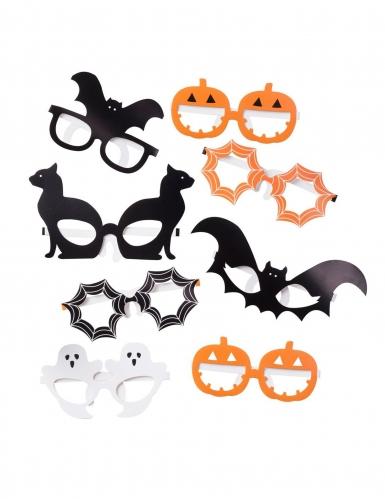 8 Paires de lunettes Halloween