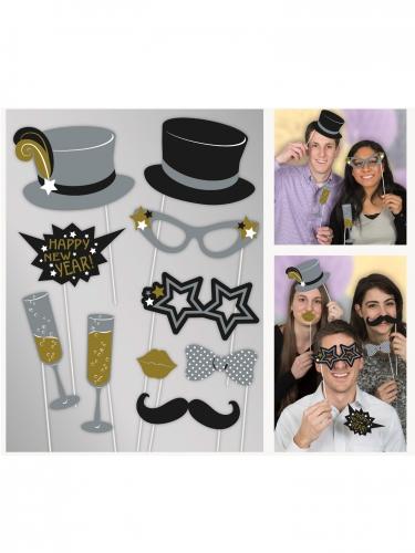 Kit photobooth Happy New Year -1