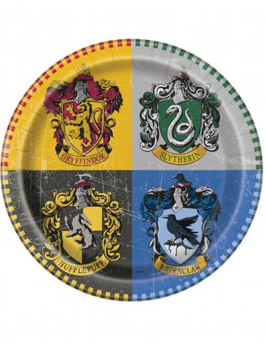 8 Assiettes en carton Harry Potter ™ 23 cm
