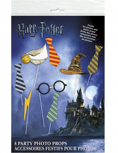 Kit photobooth 8 pièces Harry Potter™-1