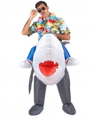 Déguisement requin gonflable adulte-1