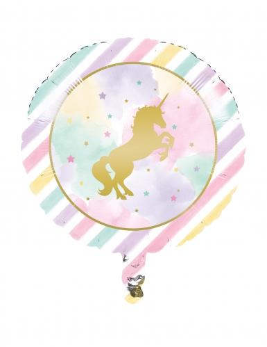 Ballon alluminium licorne 46 cm