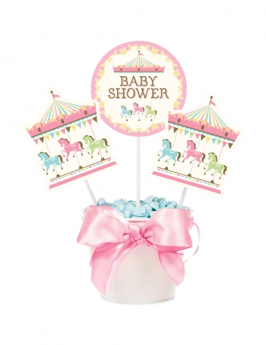 3 Piques Carrousel baby shower-1