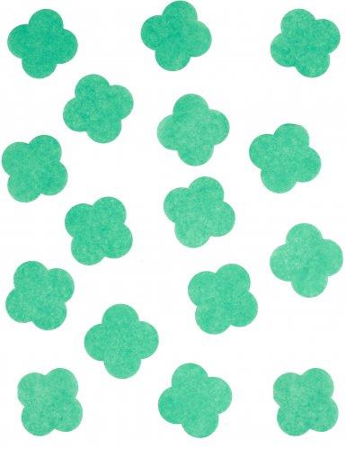 Confettis en papier Trèfles 50 gr