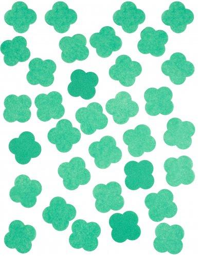 Confettis en papier Trèfles 50 gr-1